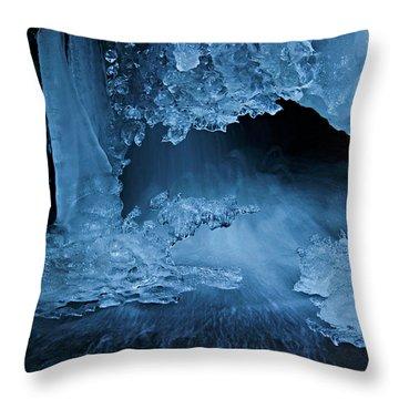 Come Inside Throw Pillow