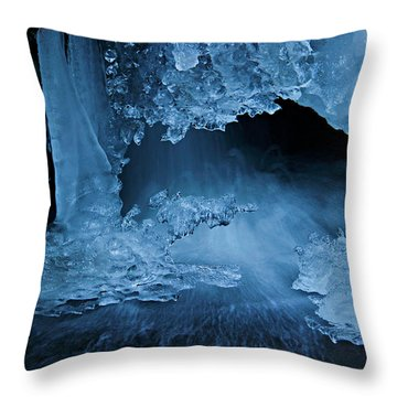 Come Inside Throw Pillow