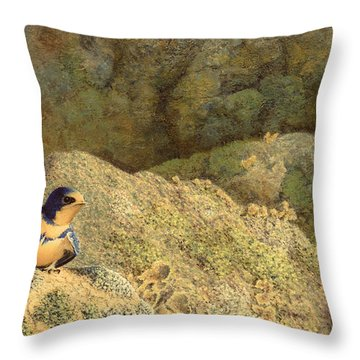 Come No Further Throw Pillow