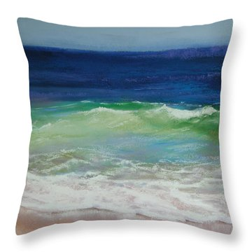Come On In Throw Pillow by Jeanne Rosier Smith
