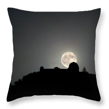 Come On You Stranger, And Shine In On Lick Observatory Throw Pillow