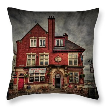 Come Out And Play Throw Pillow by Evelina Kremsdorf