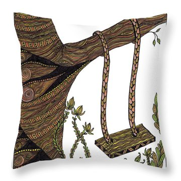 Come Out And Play Throw Pillow