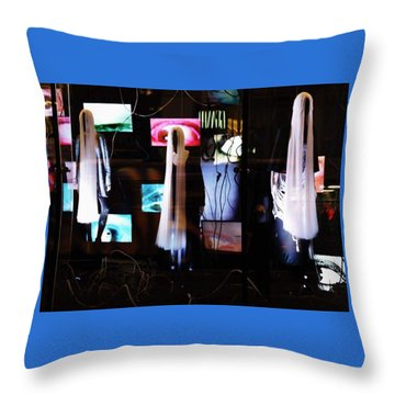 Come Play The American Dream  Throw Pillow