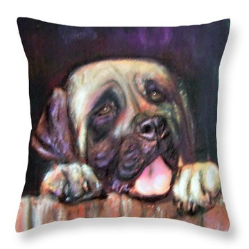 Come Play With Me Throw Pillow by Darla Joy  Johnson