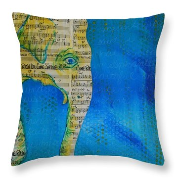 Come Rain Or Come Shine Throw Pillow