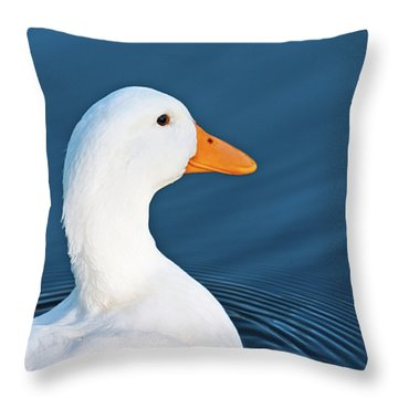 Come Swim With Me Throw Pillow