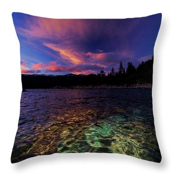 Throw Pillow featuring the photograph Come To My Window by Sean Sarsfield