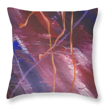Come To Silver Throw Pillow