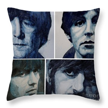 Paul Mccartney Throw Pillows