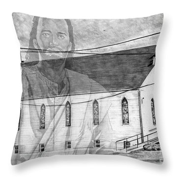 Come Unto Me Throw Pillow by Bill Richards