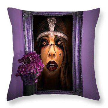 Come With Me, If You Dare Throw Pillow