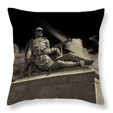 Come With Me If You Want To Live Throw Pillow