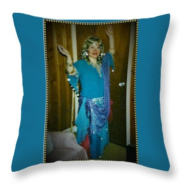 Throw Pillow featuring the photograph Come With Me To The Casbah by Denise Fulmer