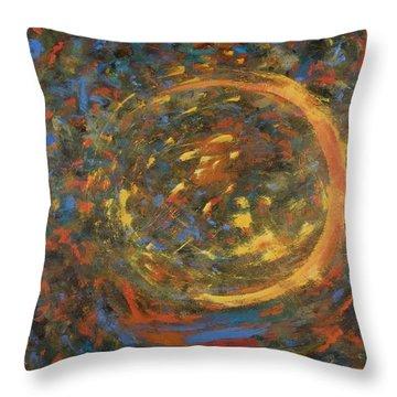 Comet #2 Throw Pillow