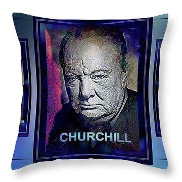 Cometh The Hour . . .  Throw Pillow