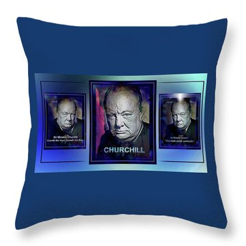 Cometh The Hour . . .  Throw Pillow