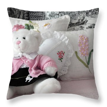 Comforts Of Home Throw Pillow