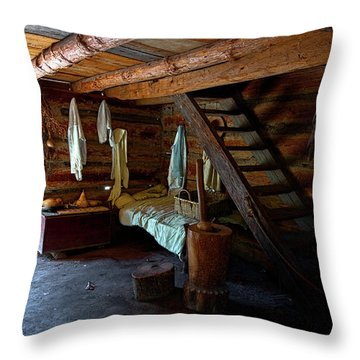 Comfy Corner Throw Pillow by Christopher Holmes