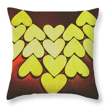 Dot Art Throw Pillows