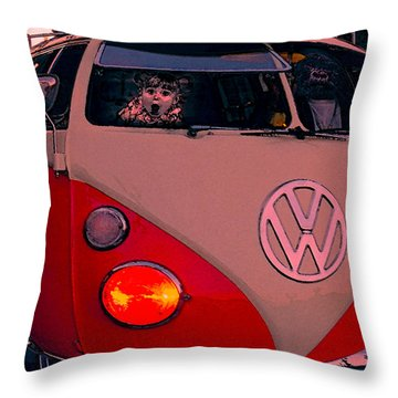 Comic Combi Throw Pillow