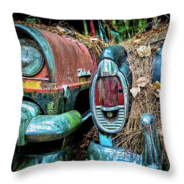 Coming And Going, 2 Throw Pillow