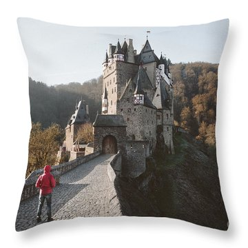 Coming Home Throw Pillow by JR Photography