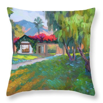 Coming Home To Traditions Throw Pillow