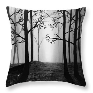 Coming Light Throw Pillow