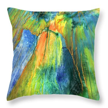 Coming Lord Throw Pillow