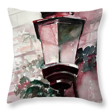 Coming Of Winter Throw Pillow