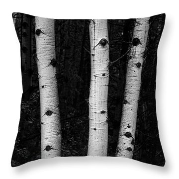 Throw Pillow featuring the photograph Coming Out Of Darkness by James BO Insogna