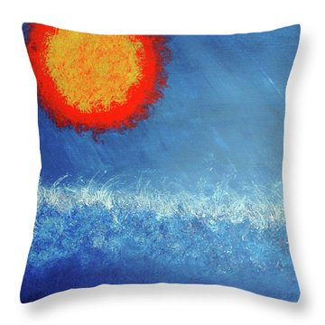 Coming To A Boil Throw Pillow