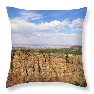 Coming To The End Throw Pillow