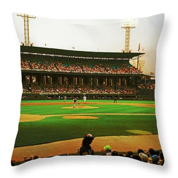 Comiskey Park  Throw Pillow