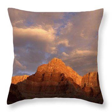 Commanche Point  Grand Canyon National Park Throw Pillow