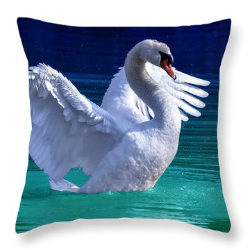 Command Presence Throw Pillow