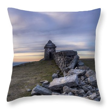 Commedagh Summit Shelter Throw Pillow