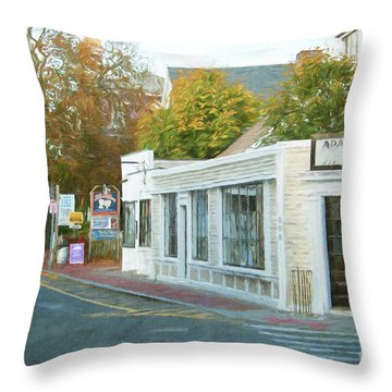 Commercial St. #2 Throw Pillow