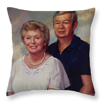Commission  Throw Pillow