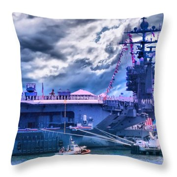 Commissioned Throw Pillow by DJ Florek