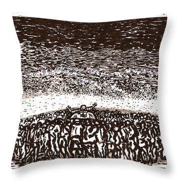 Committment Ceremony Throw Pillow