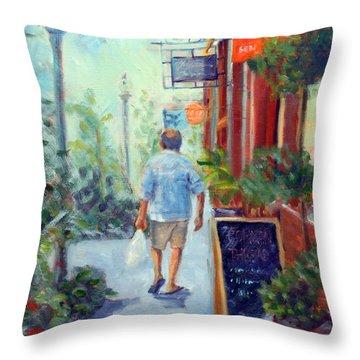 Common Thread Throw Pillow
