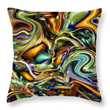Commotion In The Motion Vii Throw Pillow