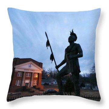 Community Artwork  Throw Pillow by Dustin Soph