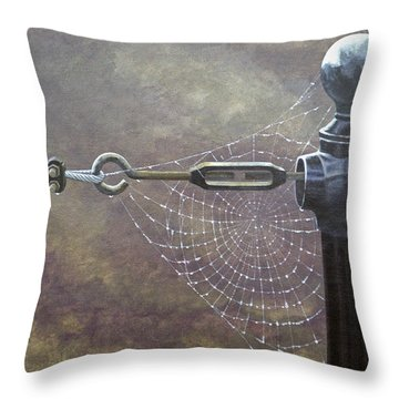 Comparative Engineering Throw Pillow