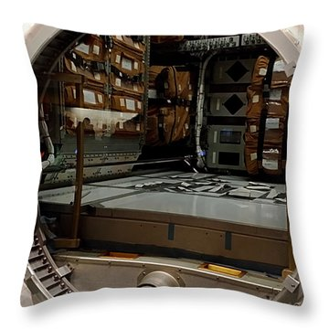 Compartment Throw Pillow