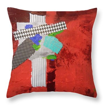 Compass Of Winds Throw Pillow by Sue Furrow