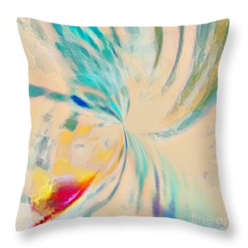 Compassion Throw Pillow