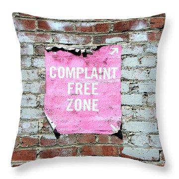 Art Wall Street Throw Pillows